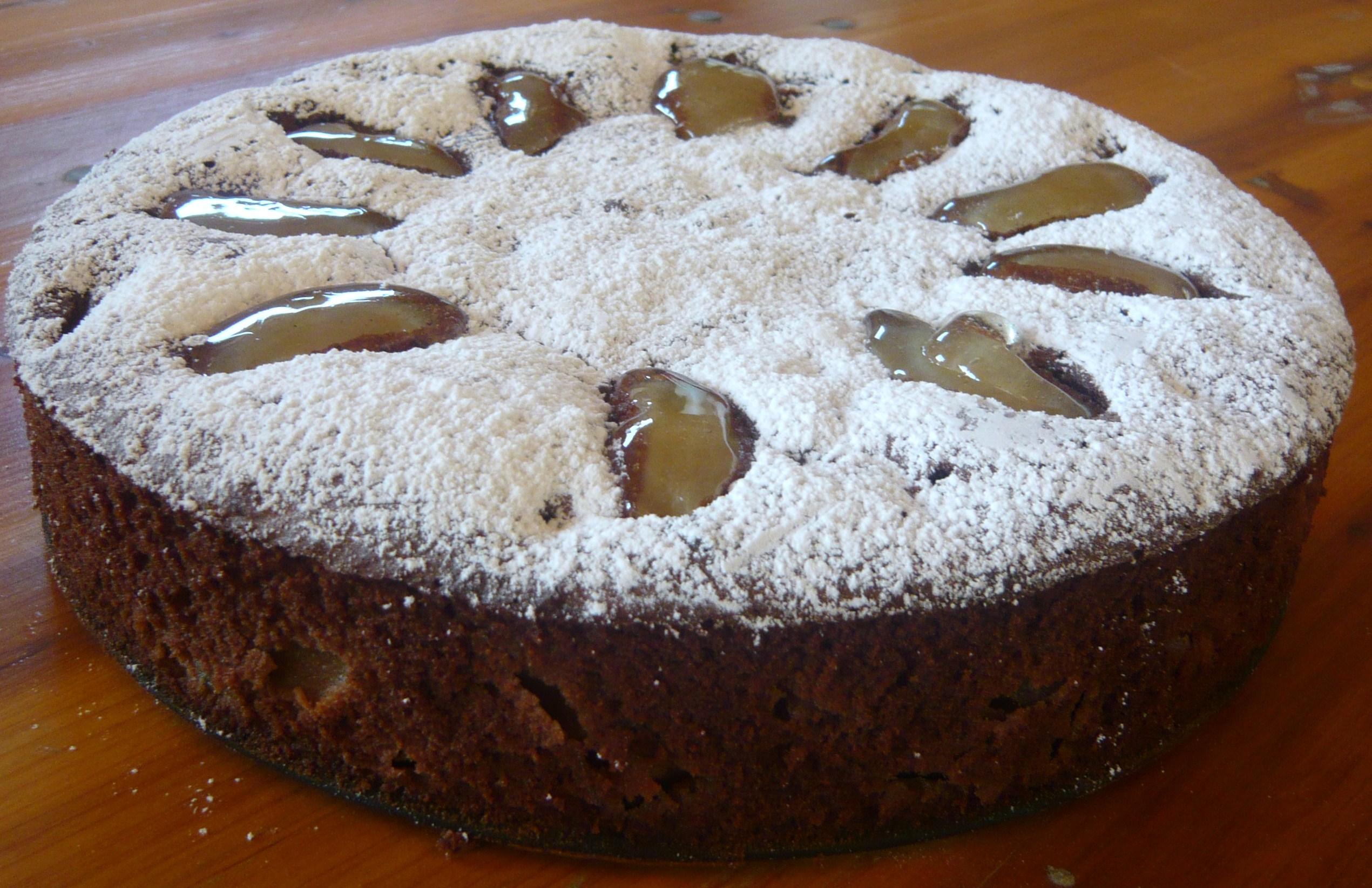 Ricetta della torta con le pere